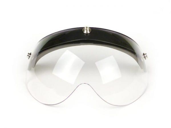 Visier für Helm -70´S HELMETS Shorty- kurz – klar – klappbar – passend für Piaggio PXential, Bandit Jet Helme 3331126