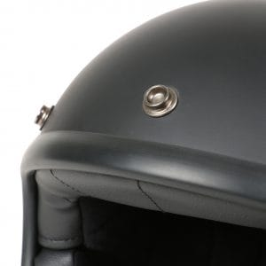 Helm -DMD Jet Vintage- Jethelm, vintage – Matt Black – M (57-58cm) 3333261M