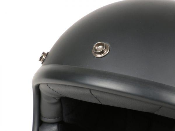 Helm -DMD Jet Vintage- Jethelm, vintage – Matt Black – XS (53-54cm) 3333261XS