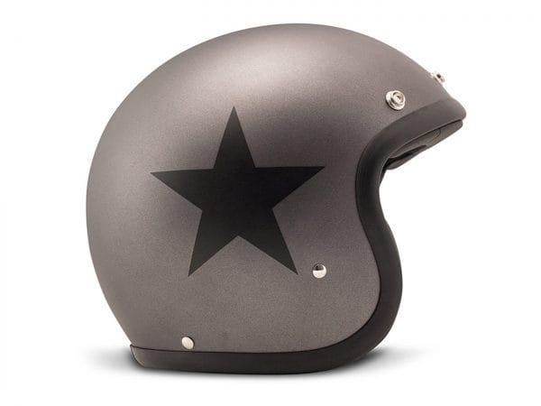 Helm -DMD Jet Vintage- Jethelm, vintage – Star Grey – S (55-56cm) 3333266S