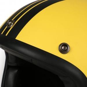 Helm -DMD Jet Vintage- Jethelm, vintage – Star Yellow – M (57-58cm) 3333267M