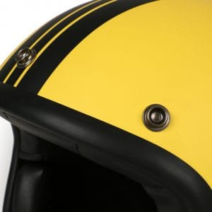 Helm -DMD Jet Vintage- Jethelm, vintage – Star Yellow – S (55-56cm) 3333267S