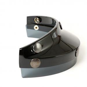 Helmschirm -DMD Vintage Racing Peak – schwarz 3333280