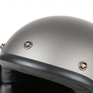Helm -DMD Jet Vintage- Jethelm, vintage – Matt Grey – L (59cm) 3333288L
