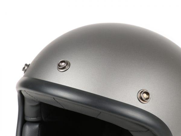 Helm -DMD Jet Vintage- Jethelm, vintage – Matt Grey – M (57-58cm) 3333288M