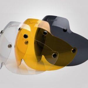 Visier für Helm -VESPA Soft Touch- gross – klar 605281M