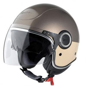 Helm -VESPA VJ- Jethelm, braun / beige – XS (52-54cm) 605914M01MB