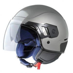 Helm -VESPA PJ- Jethelm, grau – XS (52-54cm) 605917M01G