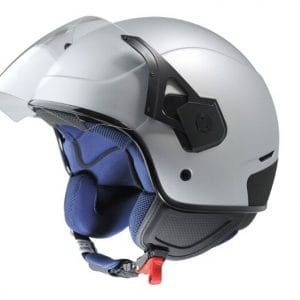 Helm -VESPA PJ- Jethelm, grau matt – XS (52-54cm) 605917M01GM