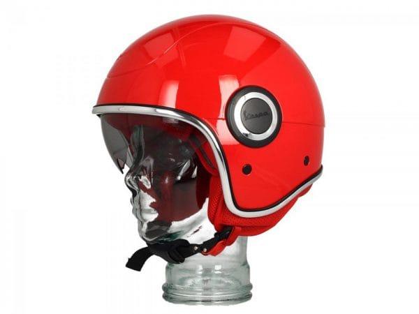 Helm -VESPA VJ1- Jethelm, (RED) Rosso Passione R7 (894) – S (55-56cm) 606518M02R