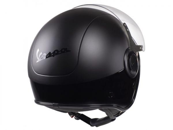 Helm -VESPA VJ- Jethelm, Nero / Nero Opaco – XS (52-54cm) 606656M01DB