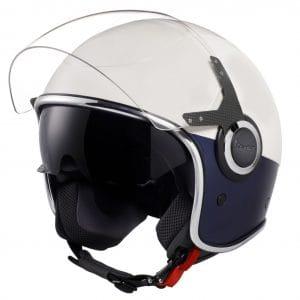 Helm -VESPA VJ- Jethelm, Bianco / Blu Opaco – XS (52-54cm) 606656M01WB