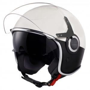 Helm -VESPA VJ- Jethelm, Bianco / Nero Opaco – S (55-56cm) 606656M02WBK