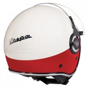 Helm -VESPA VJ- Jethelm, Bianco / Rosso Opaco – M (57-58cm) 606656M03WR