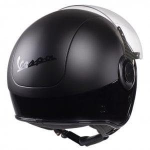 Helm -VESPA VJ- Jethelm, Nero / Nero Opaco – XL (61-62cm) 606656M05DB