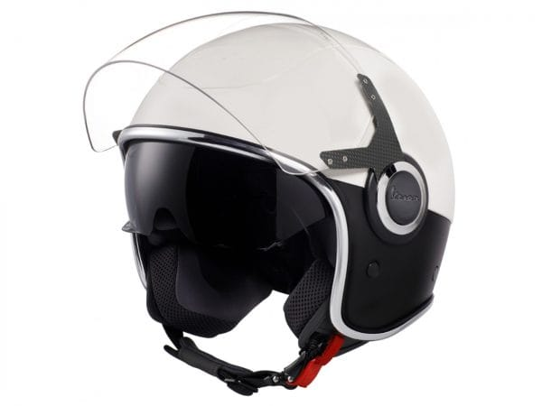 Helm -VESPA VJ- Jethelm, Bianco / Nero Opaco – XL (61-62cm) 606656M05WBK