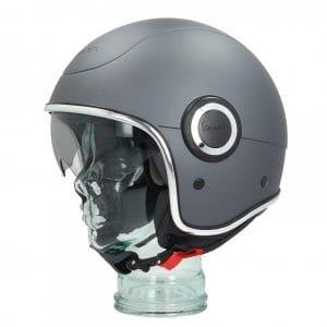 Helm -VESPA VJ1- Jethelm, Grigio Titanio (707/C) – XS (52-54cm) 606657M01GR