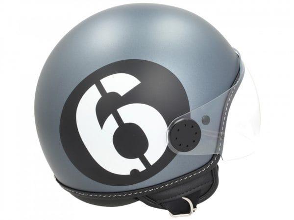 Helm -VESPA Jethelm Sei Giorni – grau – L (59-60 cm) 606676M04GY