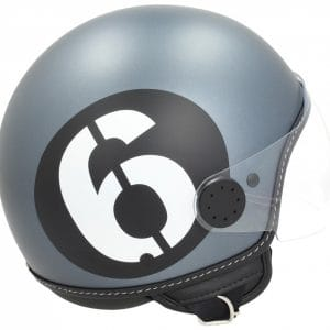 Helm -VESPA Jethelm Sei Giorni – grau – XL (61-62 cm) 606676M05GY