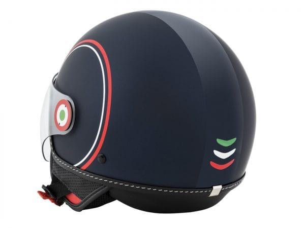 Helm -VESPA Jethelm Modernist- ABS- blau rot weiß- L (59-60 cm) 606739M04MB