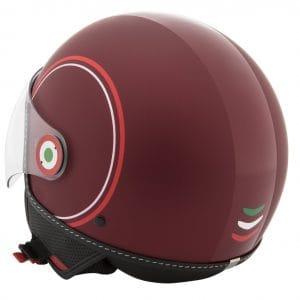 Helm -VESPA Jethelm Modernist- ABS- rot weiß- XL (61-62 cm) 606739M05MR