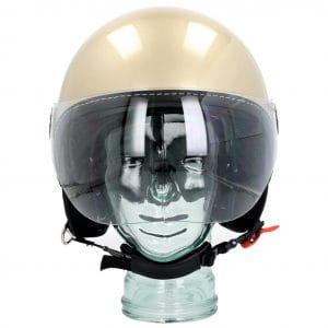 Helm -VESPA Visor 3.0- beige eleganza (513A) – XS (52-54cm) 606783M01BG