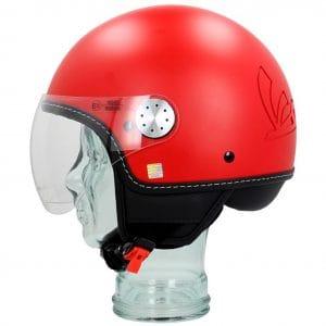 Helm -VESPA Visor 3.0- rot matt profondo (896A) – XS (52-54cm) 606783M01DR