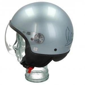 Helm -VESPA Visor 3.0- grau (grigio delicato (G01)) – XS (52-54cm) 606783M01GL