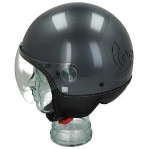 Helm -VESPA Visor 3.0- grau (grigio travolgente (G03)) – S (55-56cm) 606783M02TG