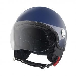 Helm -VESPA Visor 3.0- blau metallic (289A) – M (57-58cm) 606783M03BL
