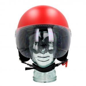 Helm -VESPA Visor 3.0- rot matt profondo (896A) – M (57-58cm) 606783M03DR