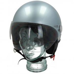 Helm -VESPA Visor 3.0- grau (grigio delicato (G01)) – M (57-58cm) 606783M03GL