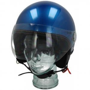 Helm -VESPA Visor 3.0- blau (vivace blue lucido (261/A)) – M (57-58cm) 606783M03NB