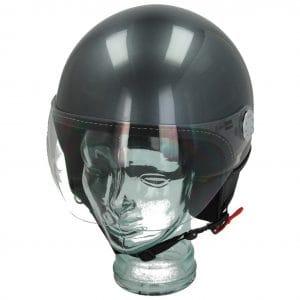 Helm -VESPA Visor 3.0- grau (grigio travolgente (G03)) – M (57-58cm) 606783M03TG