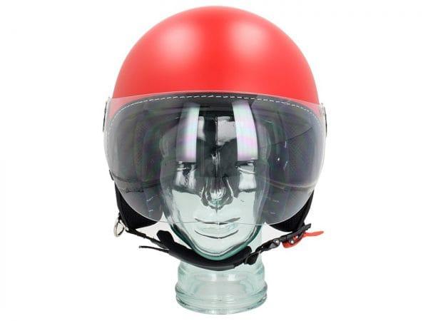 Helm -VESPA Visor 3.0- rot matt profondo (896A) – L (59-60cm) 606783M04DR