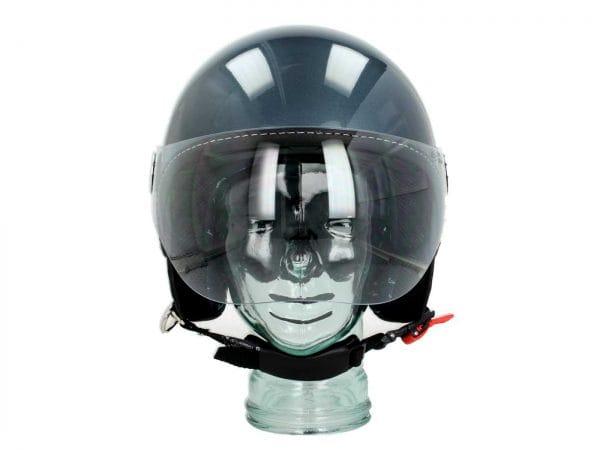 Helm -VESPA Visor 3.0- grau dolomiti (770B) – L (59-60cm) 606783M04GD