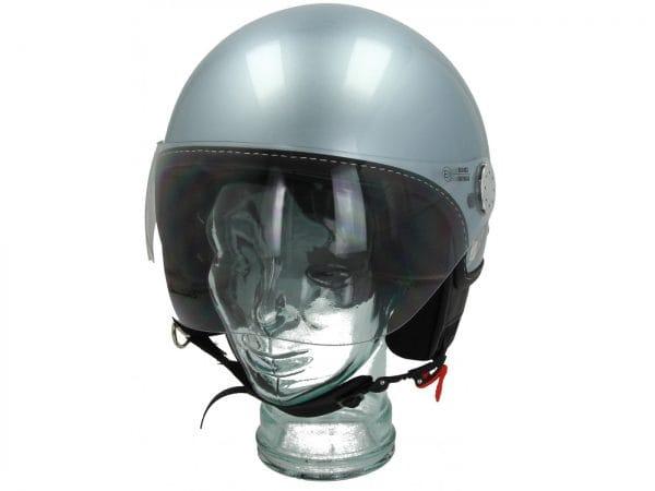 Helm -VESPA Visor 3.0- grau (grigio delicato (G01)) – L (59-60cm) 606783M04GL