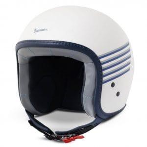 Helm -VESPA Jethelm Graphic- weiß- L (59-60 cm) 607026M04WH