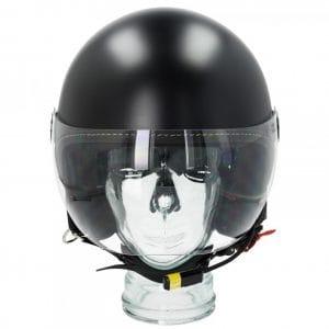 "Helm -VESPA Visor BT ""Super Tech""- schwarz (nero vulcano (98/A)) – S (55-56cm) 607027M02MB"
