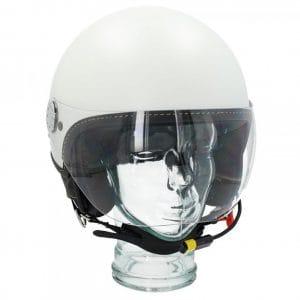 "Helm -VESPA Visor BT ""Super Tech""- weiß (bianco innocenza (544)) – S (55-56cm) 607027M02WH"