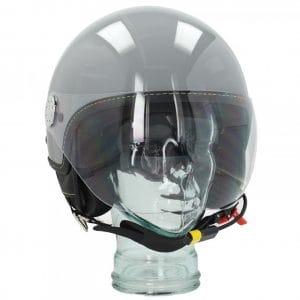 """Helm -VESPA Visor BT """"Super Tech""""- grau (grigio materia (715/C)) – M (57-58cm) 607027M03GR"""