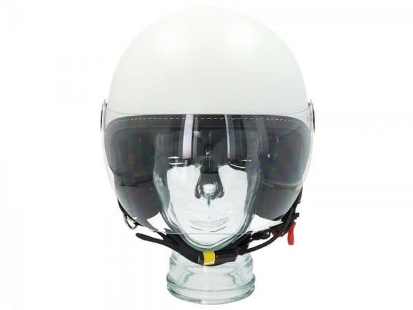 "Helm -VESPA Visor BT ""Super Tech""- weiß (bianco innocenza (544)) – M (57-58cm) 607027M03WH"