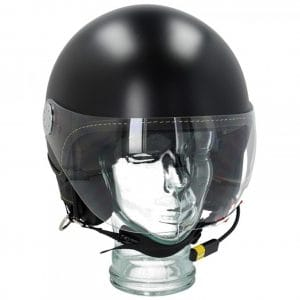 "Helm -VESPA Visor BT ""Super Tech""- schwarz (nero vulcano (98/A)) – L (59-60cm) 607027M04MB"
