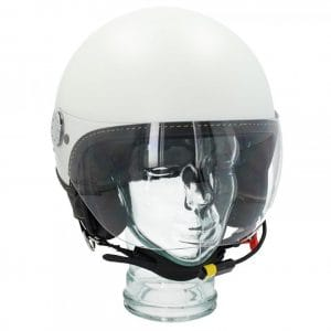 "Helm -VESPA Visor BT ""Super Tech""- weiß (bianco innocenza (544)) – L (59-60cm) 607027M04WH"