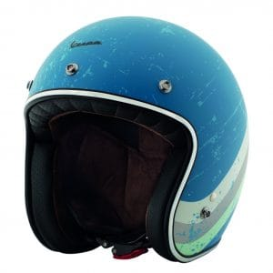 Helm -VESPA Jethelm Heritage- blau (azzuro cina Pia 402) M (57-58 cm) 607068M03AZ