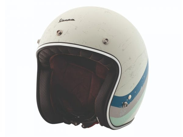 Helm -VESPA Jethelm Heritage- weiß (biancospino)- L (59-60 cm) 607068M04BS