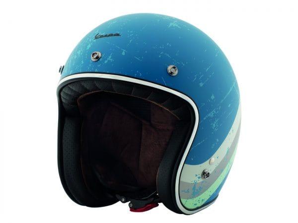 Helm -VESPA Jethelm Heritage- blau (azzuro cina Pia 402)- XL (61-62 cm) 607068M05AZ