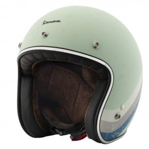 Helm -VESPA Jethelm Heritage- grün (azzurro acquamarina Pia 305)- XL (61-62 cm) 607068M05VA