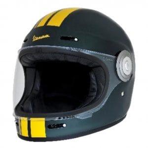Helm -VESPA Integralhelm- Racing Sixties- grün gelb- S (55-56 cm) 607527M02GN