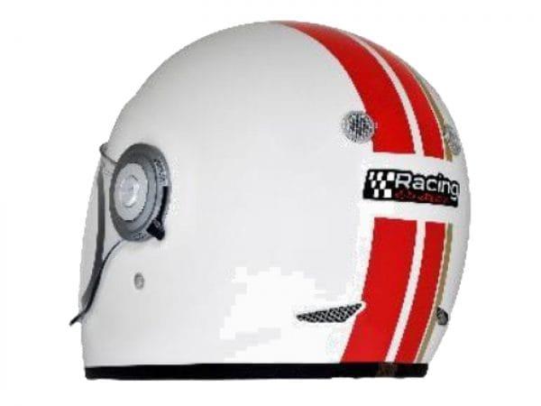 Helm -VESPA Integralhelm- Racing Sixties- weiß rot- S (55-56 cm) 607527M02WH
